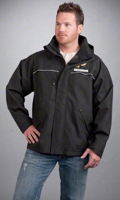 Washington Redskins Jacket: Black Reebok Yukon Jacket