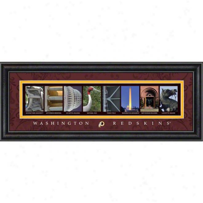 Washington Redskins Letter Art