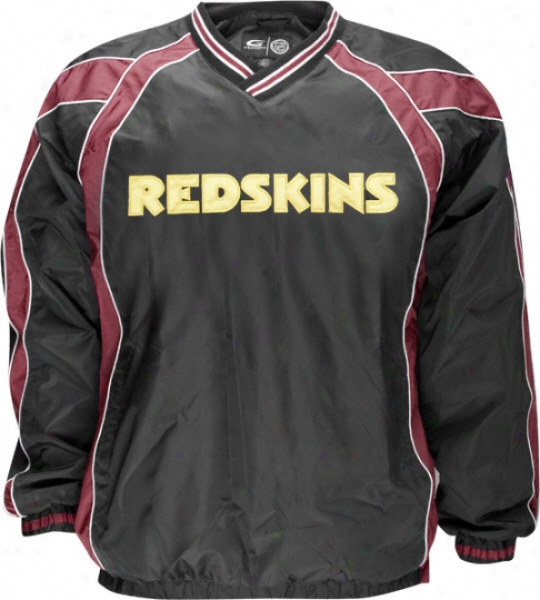 Washington Redskins Lightweight V-neck Pullover Jacket
