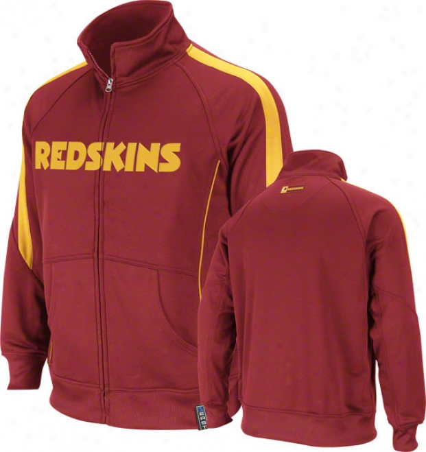 Washington Redsjins Red Tailgate Occasion Tracck Jacket