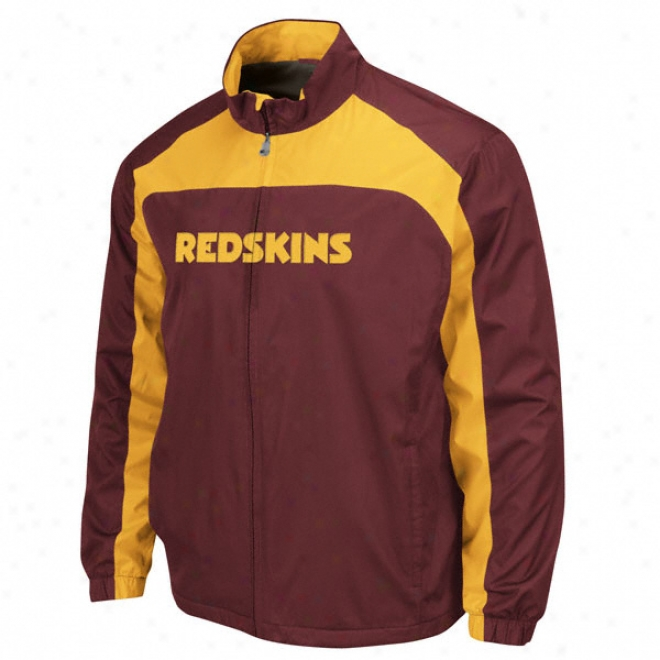 Washington Redskins Safety Blitz Ii Full-zip Jacket