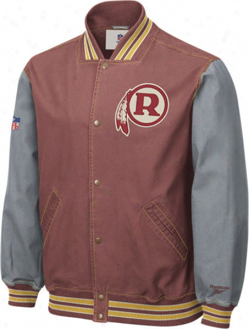 Washington Redskins Throwback Canvas Jacket