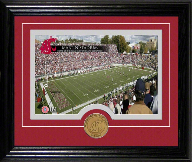 Washington State Cougars Martin Stasium Desktop Photograph