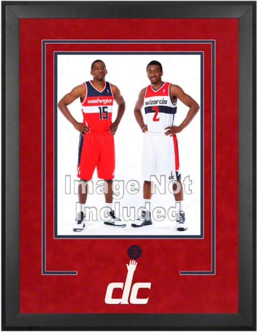 Washington Wizards 16x20 Vertical Setup Frame With Team Logo