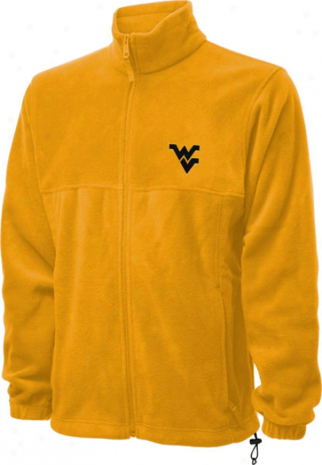 West Virginia Mountaineers Gold Columbia Flanker Full-zip Jacket
