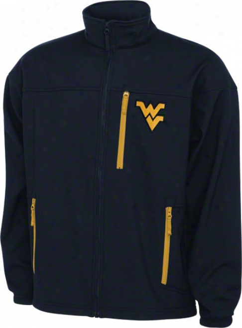 West Virginia Mountaineers Ships Columbia Give 'em 6 Softshell Jacket