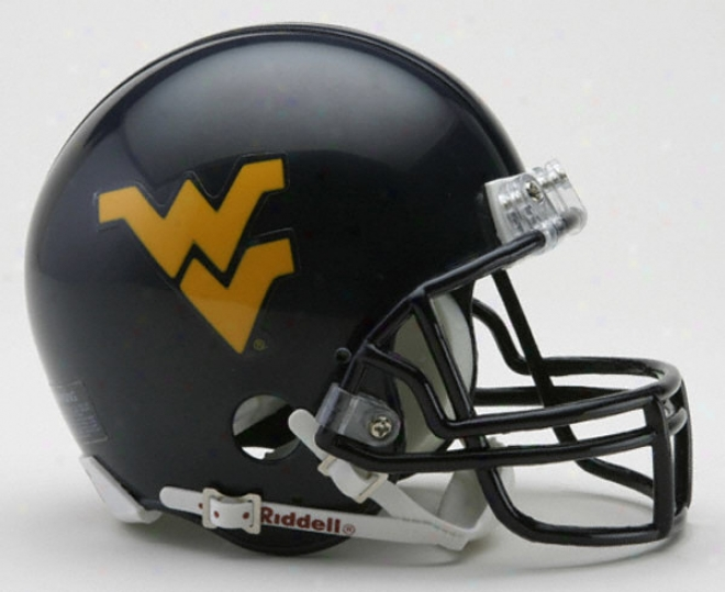 Western Virginia Mountaineers Riddell Mini Helm