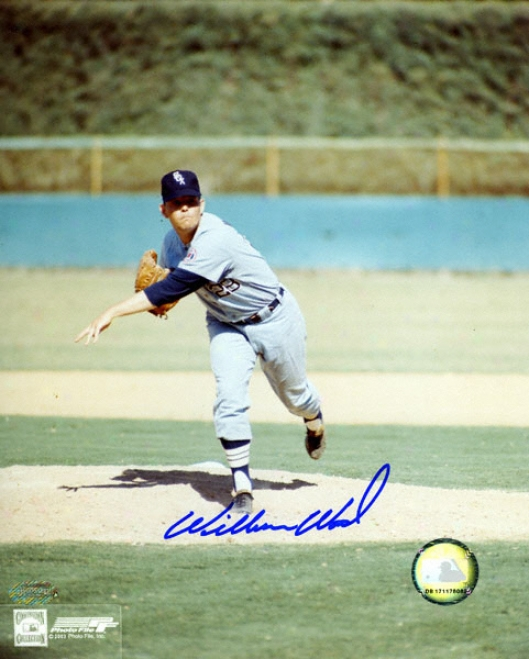 Wilbur Wood Chicago White Sox 8x10 Autographed Photograph
