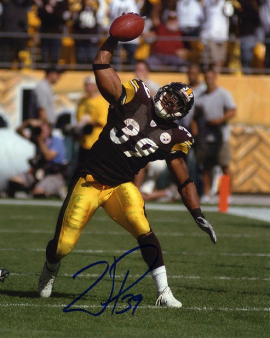 Willie Parker Pittsburgh Steelers Autographed 8x10 Photograph
