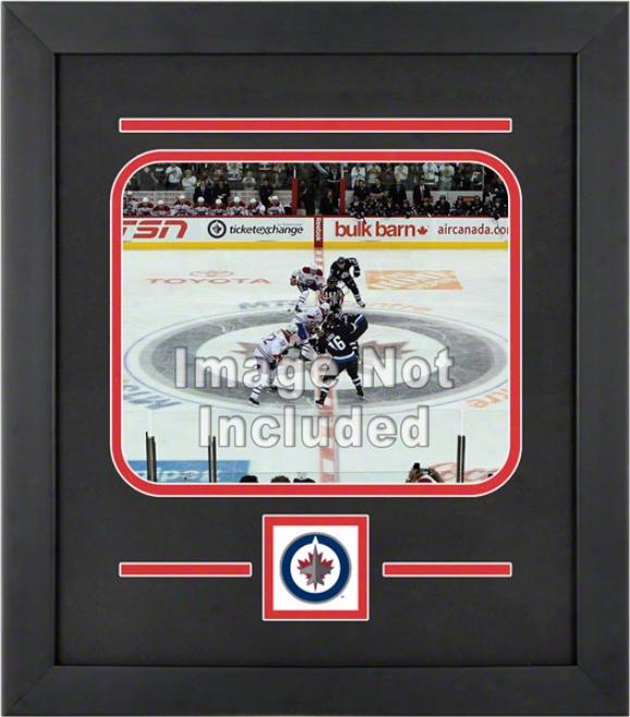 Winnipeg Jwts 8x10 Horizontal Setup Frame With Team Logo