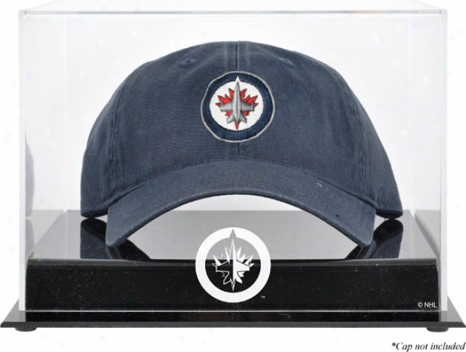 Winnipeg Jets Acrylic Cap Logo Display Case