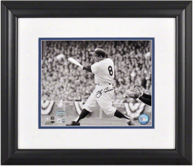 Yogi Berra Framed Autographed Photograph  Details: New York Yanlees, 8x10