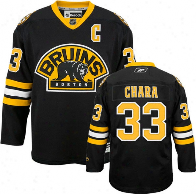 Zdeno Chara Jerse: Reebok Every other #33 Boston Bruins Premier Jersey