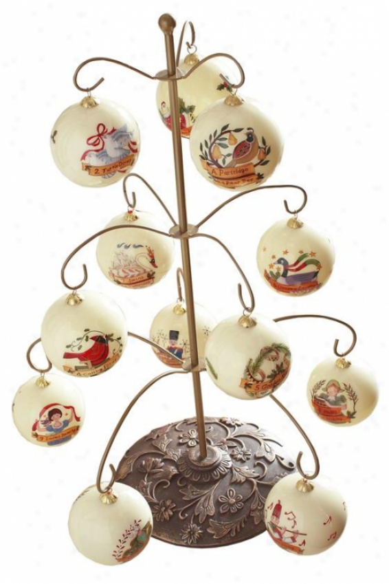 13 Piece Ornament Stand - 13 Pieces, Multi