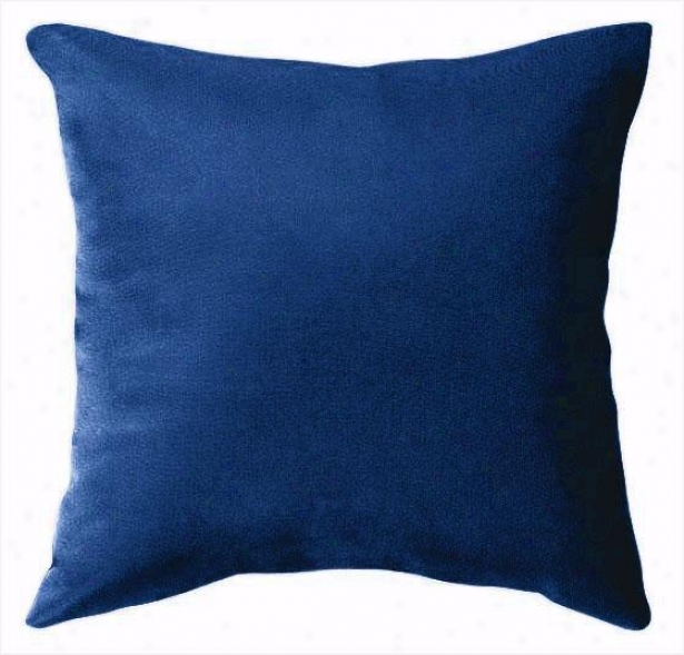 """15"""" Square Outdoor Throw Pillow - 15""""sq, Blue"""