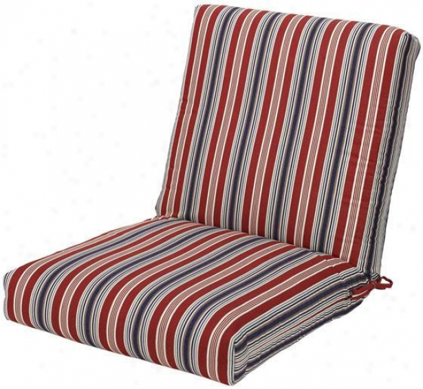 """21.5""""w Outdoor Dining Chair Cushion - 4""""hx22""""wx40""""d, Trrce Amrca Otd"""