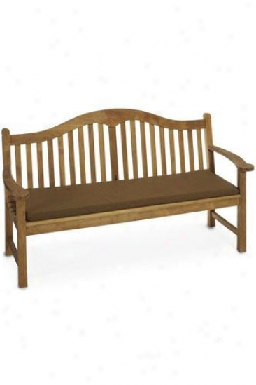 """""""59""""""""w Outdoor Cushion For 3-seater Sydney Bench - 2""""""""hx59""""""""wx18.5""""""""d, Sienna"""""""
