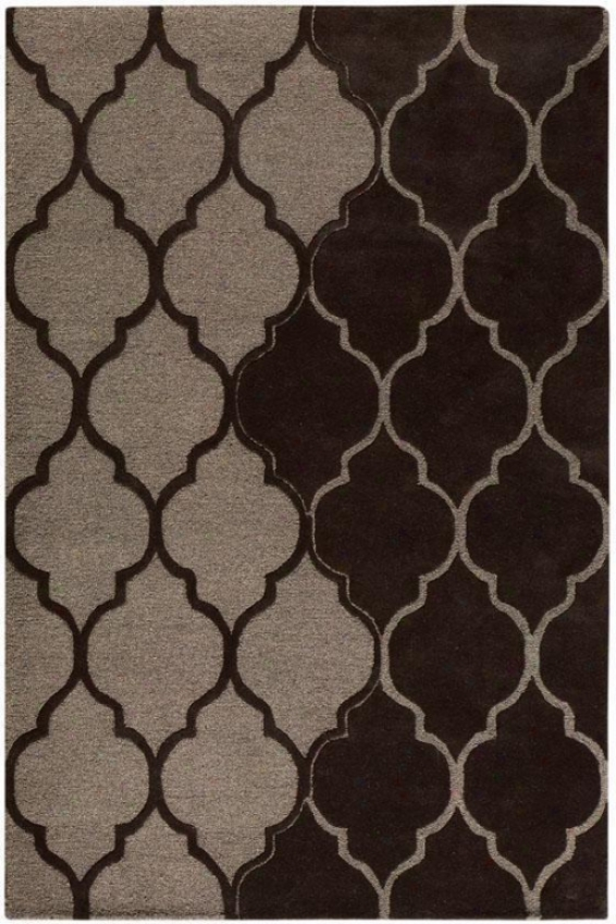 Aberdeen Rug I - 8'x11', Coffee Brown