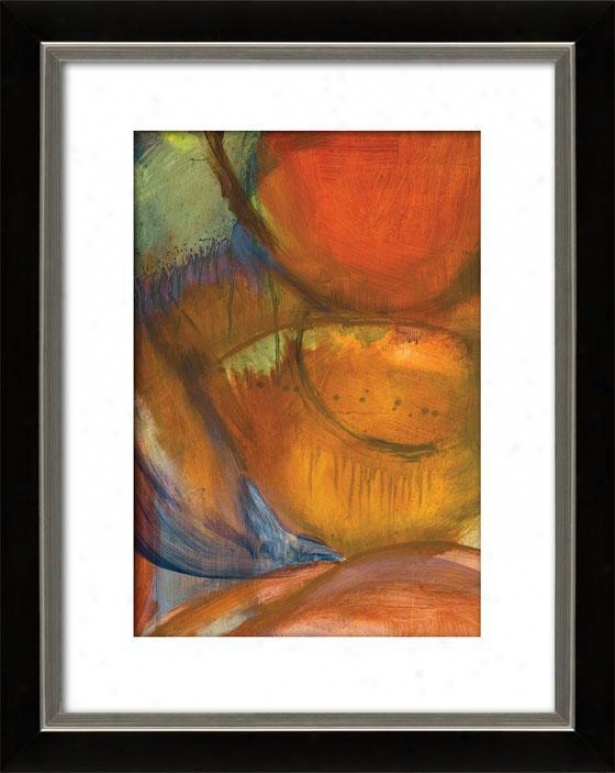 Abstracted Nature Starbright Ix Framed Wall Trade - Ix, Mttd Black/slvr