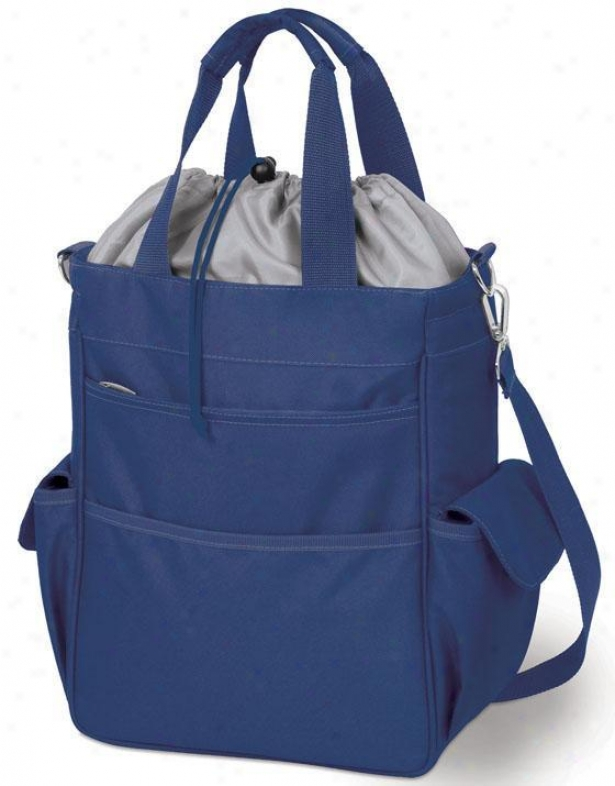 """activo Insulated Tote Ii - 14""""hx6""""wx11""""d, Navy Blue"""