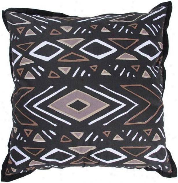 """acdington Pillow - 18""""x18"""", Black"""