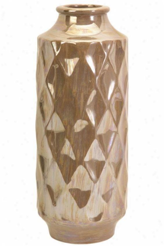 Adelman Luster Vase - Large, Luster
