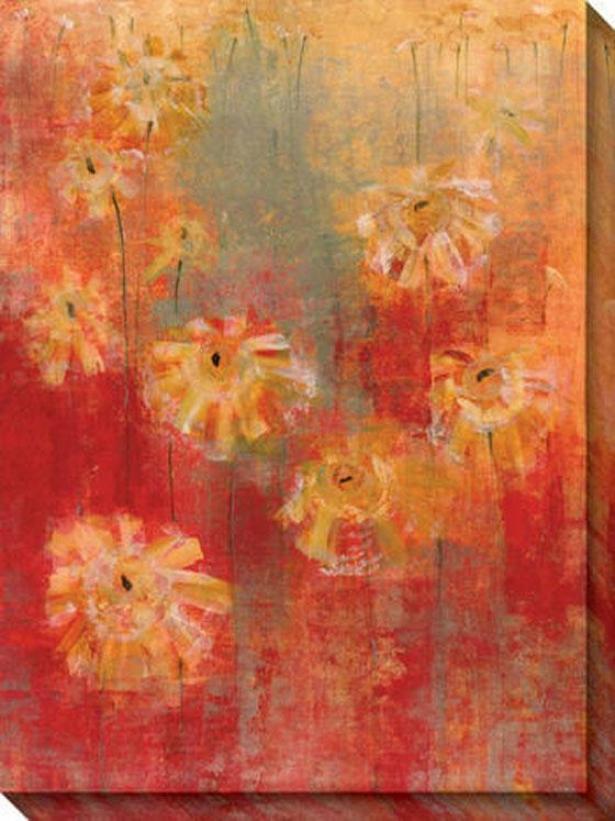 Adoration Ii Canvas Wall Art - Ii, Red