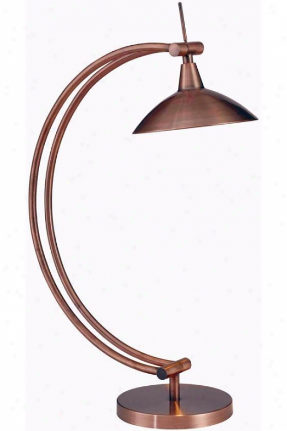 """adrian Desk Lamp - 20""""h, Vintage Copper"""