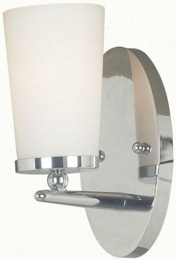 Aerial Wall Sconce - 1-light, Steel Gray-haired Nickel