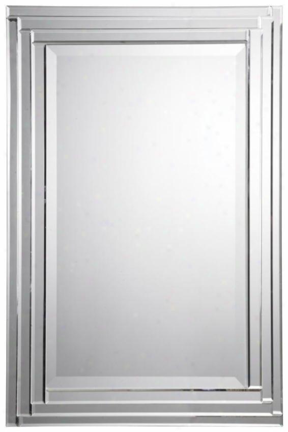 """""""alanna Mirror - 34""""""""hx22""""""""w, Silver"""""""