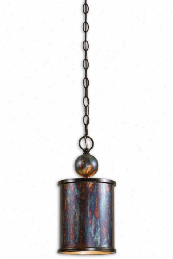 Albiano Mini Pendant - 1 Light/mini, Bronze