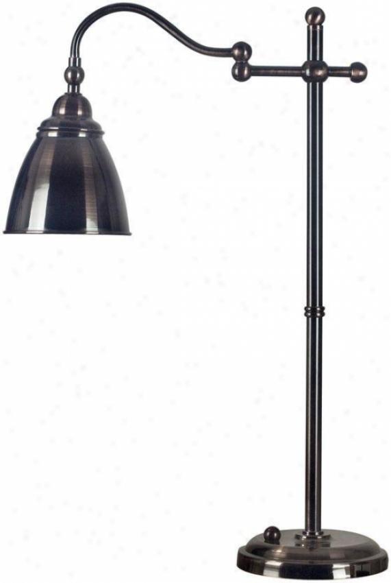 """alexander Table Lamp - 26""""h, Brown"""