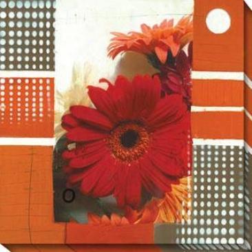 Aluve I Canvas Wall Trade - I, Red