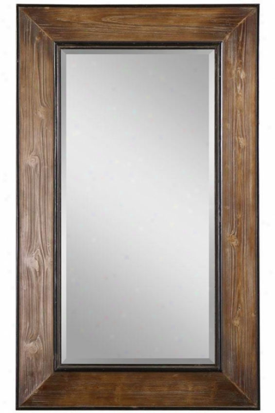 """allendale Wall Mirror - 51""""hx31""""w, Brown"""