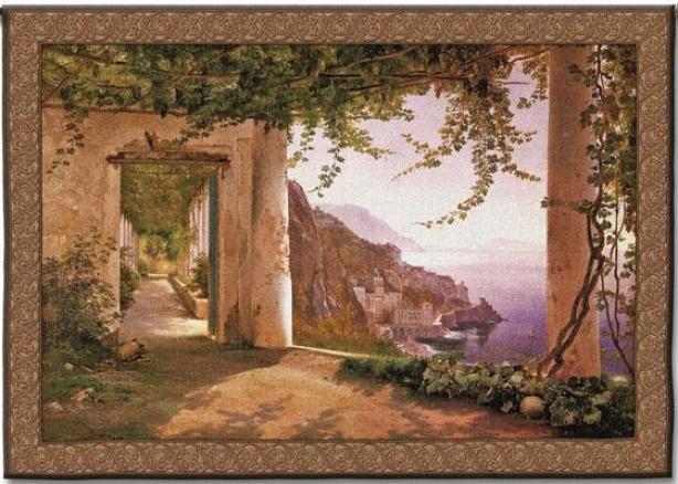 Amalfi Dai Cappuccini Tapestry - Small, Multi