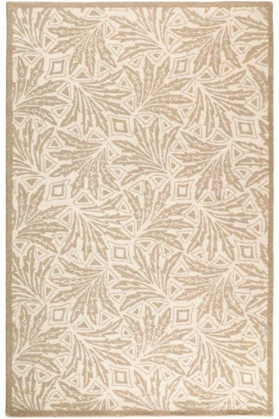 """ambiance Area Rug - 5'3""""x8'3"""", White"""