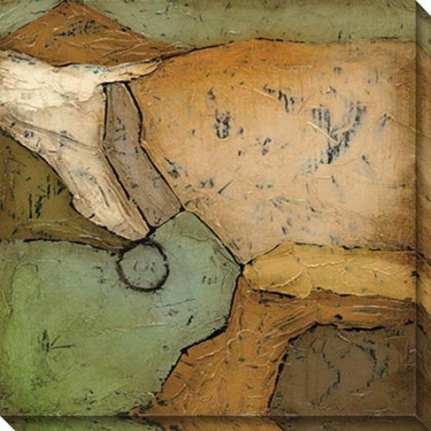 Analogous I CanvasW all Art - I, Earthtones