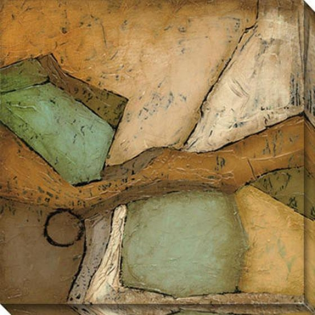 Analogous Iii Canvas Wall Art - Iii, Earthtones