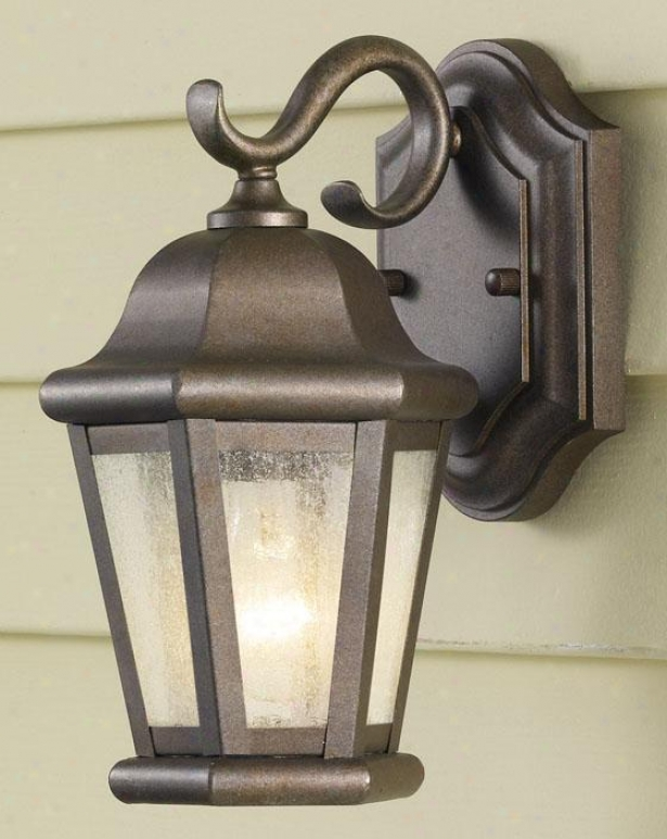 Anderson Outdoor Wall Lwntern - One Light, Corinthian Brze