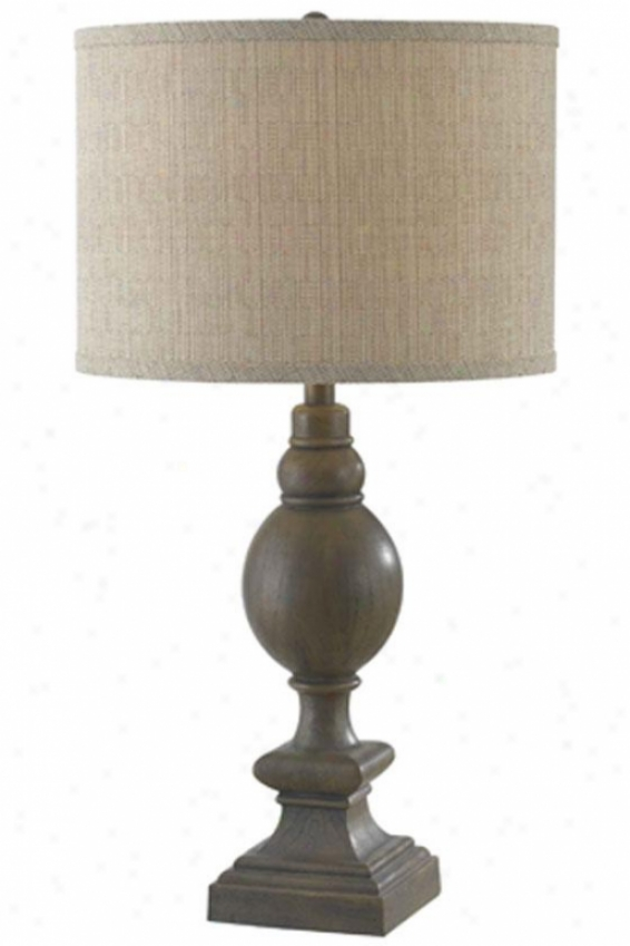 """ancover Table Lamp - 30""""hx15""""d, Driftwood"""