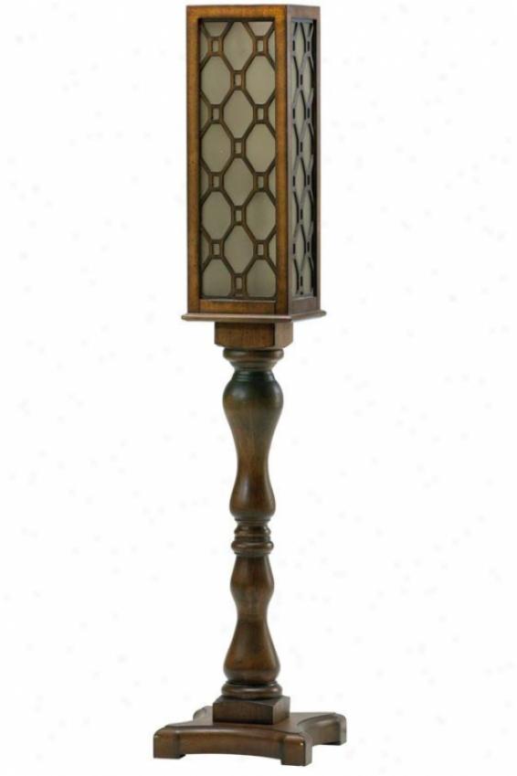"""""""angeto Floor Lamp - 56""""""""h, Brown"""""""