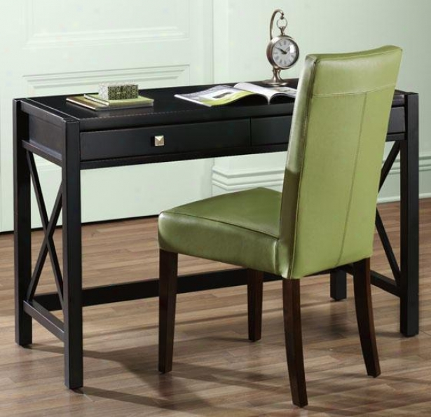 """anna Desk - 26.11""""hx47""""w, Black"""