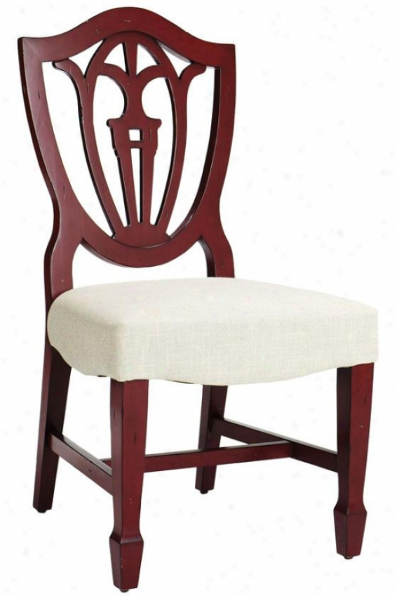 """""""annie Painted Chair - 40""""""""hx21""""""""w, Red"""""""
