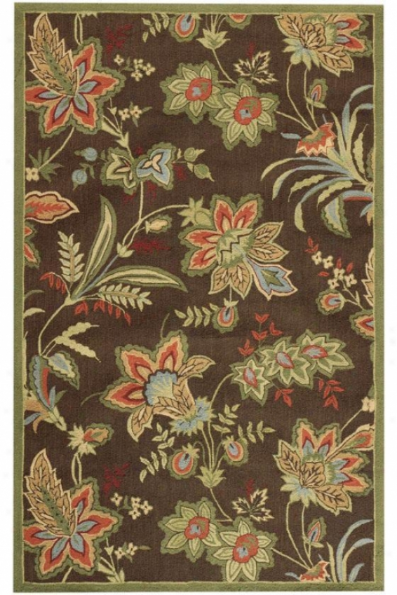 """arbor I Rug - 1'8""""x2'6"""", Brown"""