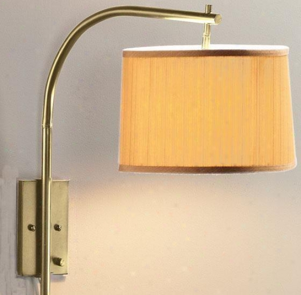 Arch Large Swing-arm Pin-up Lamp - Gold, Copper Brass