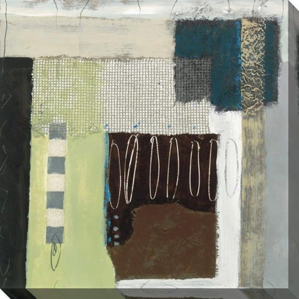 Architectural Abstract I Wall Art - I, Multi