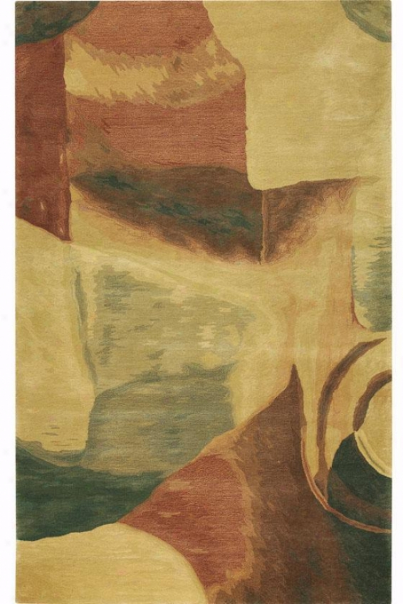 """aria Sonia Area Rug - 2'3""""x8' Runner, Tan"""