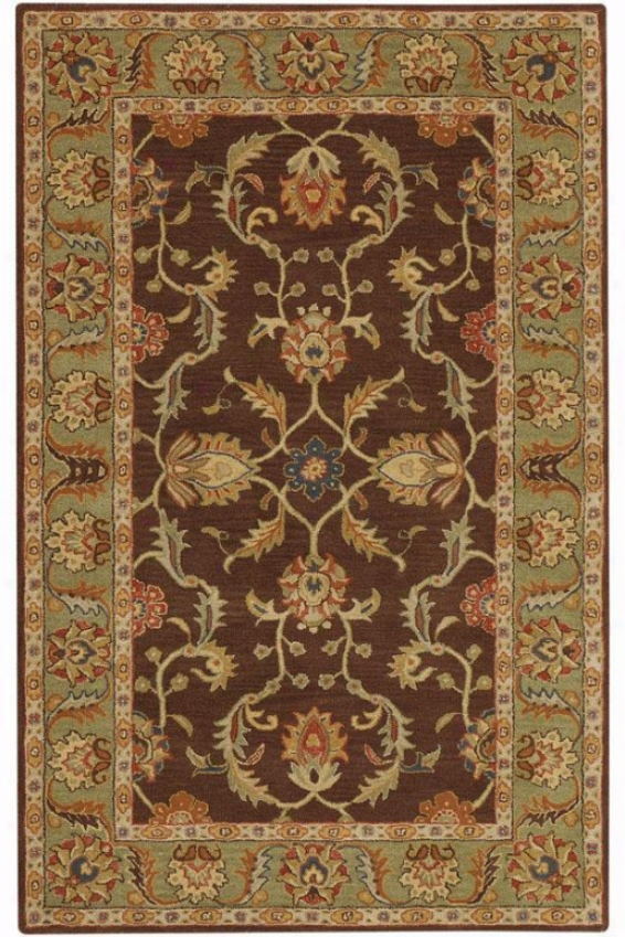 Aristocrat Rug - 5'x8', Brown