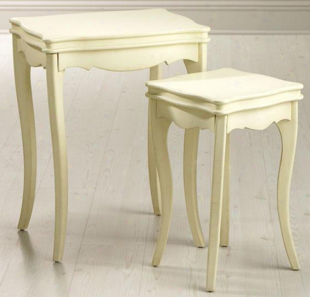 """ashley Painted Accent Nesting Tables - 26""""hx20""""w, Candlelight"""