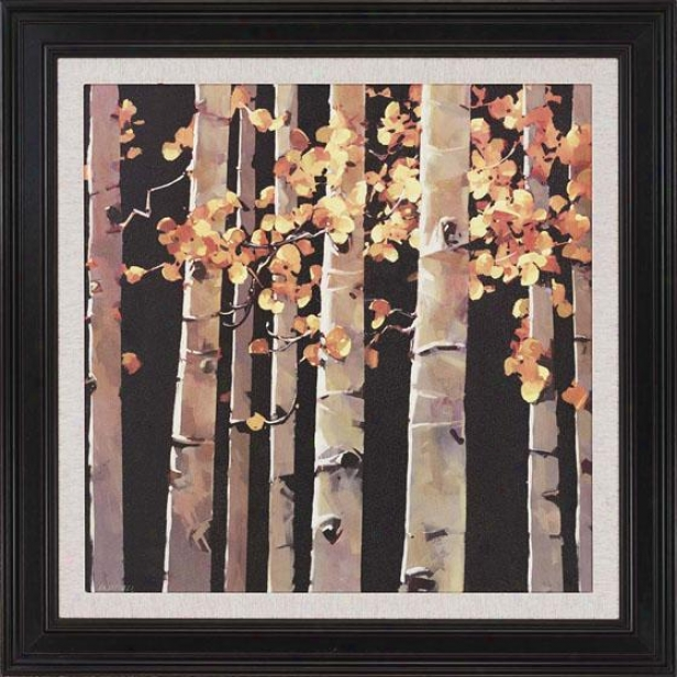 """asspen Grove Framed Wall Art - 47""""h X 47""""h, Beige"""